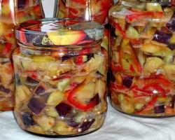 Рецепты вкусных консервированных баклажанов