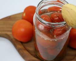 Несколько моих любимых рецептов консервированных помидоров