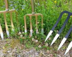 Вилы для копки земли — альтернативный инструмент для работ в саду и в огороде
