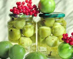 Основные правила маринования зеленых томатов