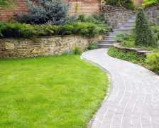 Дорожки для сада из камня