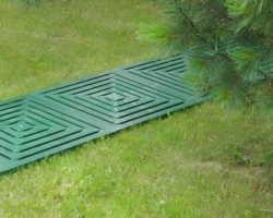 Садовые дорожки из пластика — комфорт обеспечен