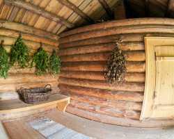 Как построить баню-дом на участке