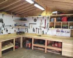 Как построить и оборудовать мастерскую своими руками на даче или другом участке