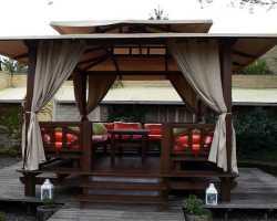 Защитные шторы для беседок и веранд — как сделать место отдыха уютнее