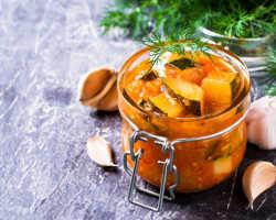 Вкусные заготовки из кабачков