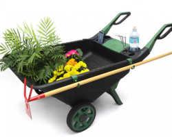 Садовая тележка — первая помощница в хозяйстве