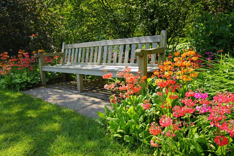 Как сделать садовую скамейку своими руками: варианты из дерева и других материалов, со спинкой и без, пошаговые инструкции