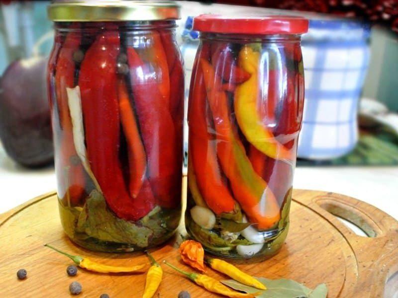 Маринованный горький перец - рецепты заготовки, засолка, консервирование
