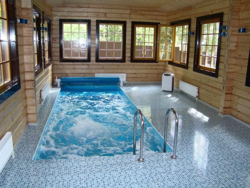 Как построить бассейн в частном доме самостоятельно?