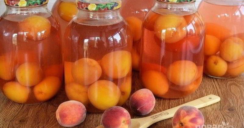 И зимой и летом: готовим персиковый компот