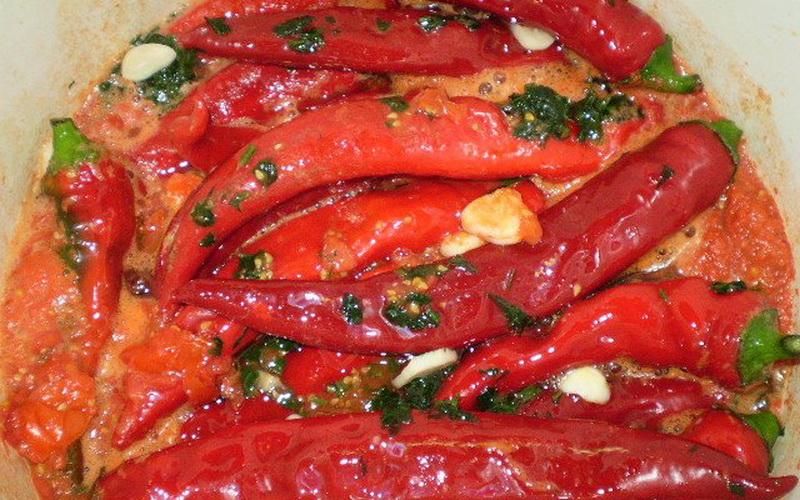 Пикантный и ароматный жареный Чили в маринаде — предлагаю мой простой пошаговый рецепт