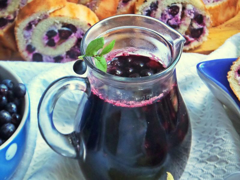 Мои любимые компоты из Черники: 7 вкусных рецептов, которые я готовлю постоянно
