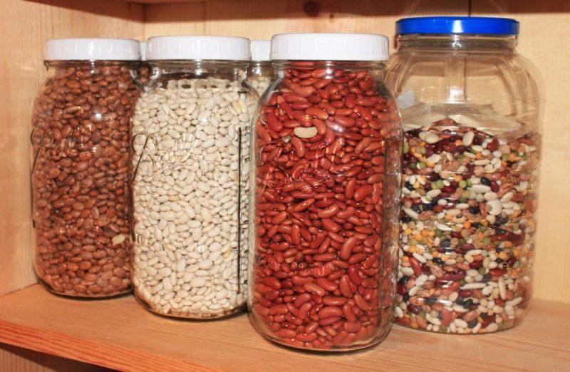 Оптимальные условия для хранения фасоли