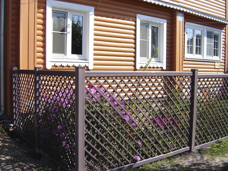 Забор для палисадника — как его сделать