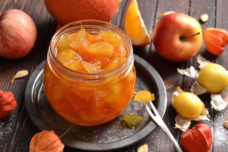 Варенье из яблок, которое готовится практически мгновенно — мои любимые быстрые и простые рецепты
