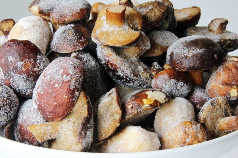 Я люблю замораживать грибы на зиму. Вот как я это делаю