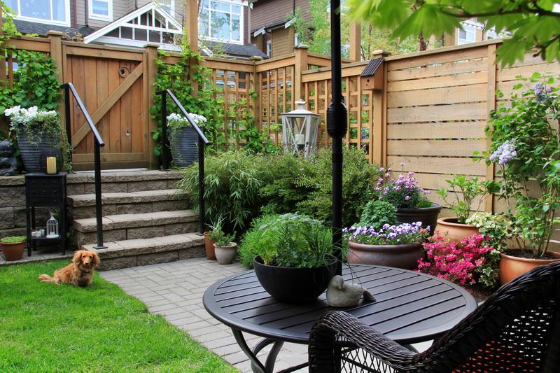 Визуальное увеличение маленьких садовых территорий с применением несложных правил — 7 идей, расширяющих пространство