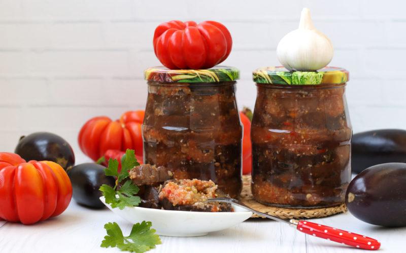 Вкуснейшие рецепты заготовок из баклажанов на зиму
