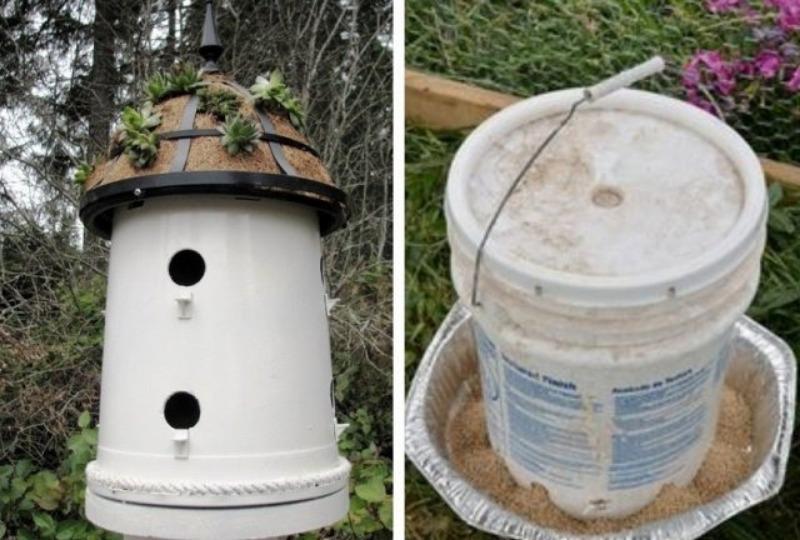 Как можно использовать дырявое ведро на даче: 7 оригинальных способов
