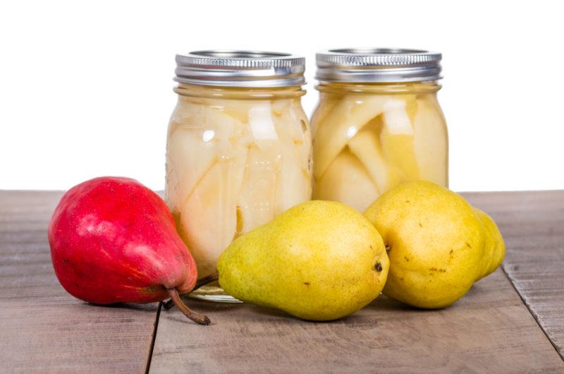 Как вкусно законсервировать грушу