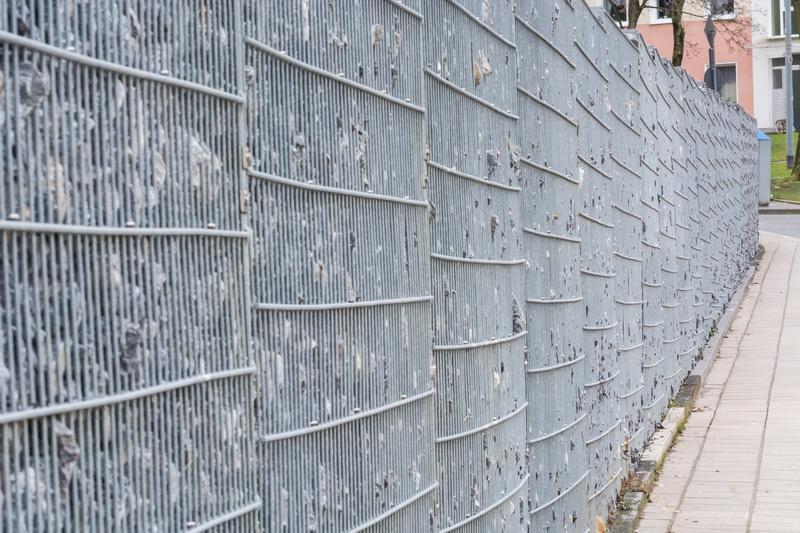 Применение строительной сетки в саду